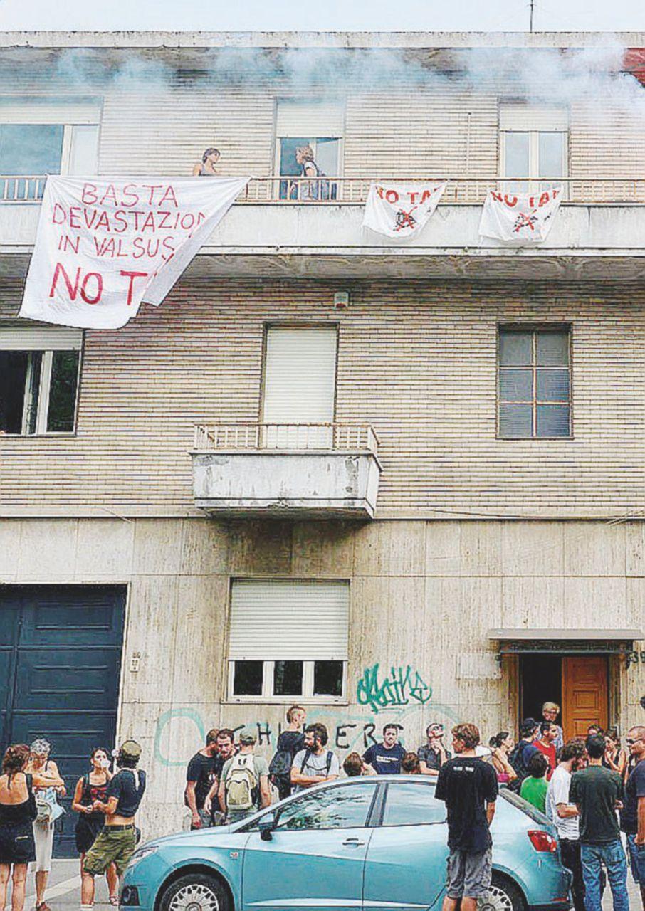 """""""Cronaca no Tav"""": quattro mesi per il giornalista"""