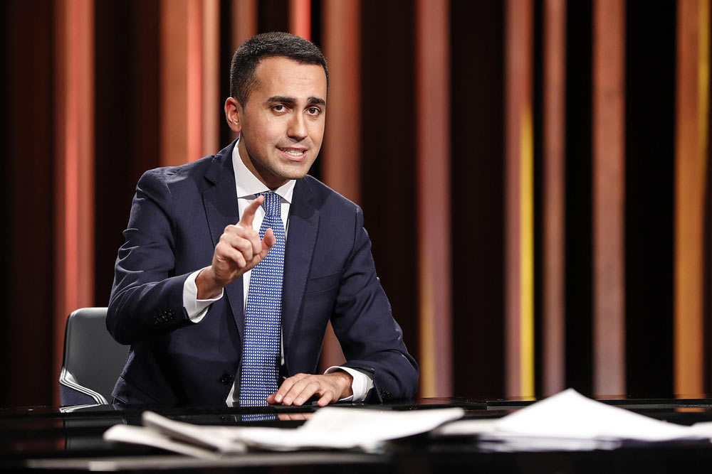 """Sul Fatto Quotidiano del 10 aprile. Intervista a Di Maio: """"Vedere Salvini ora non avrebbe senso"""""""