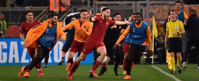 Roma-Barcellona 3-0: impresa dei giallorossi all'Olimpico. Rimonta storica, Messi eliminato. È semifinale