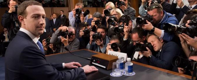 """Facebook, Zuckerberg a Senato Usa: """"Ho fatto un errore, mi dispiace"""""""