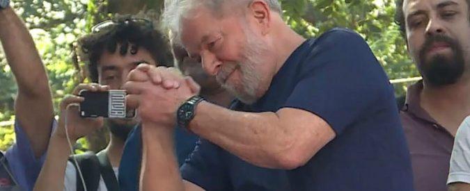 Lula resta dentro, il Brasile si dimostra meno clemente dell'Italia
