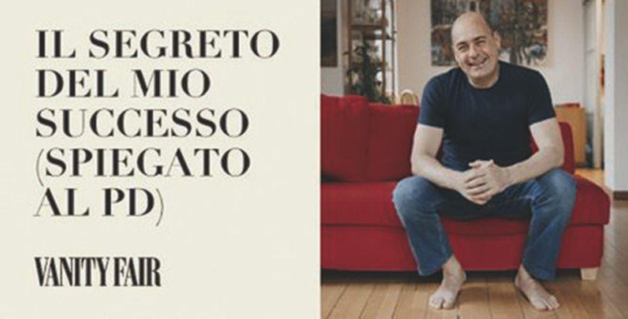 La scalata scalza di Zingaretti