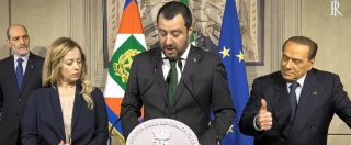 Consultazioni Bis, la prima volta di Berlusconi da gregario. E al Quirinale fa di tutto per uscire dall'ombra di Salvini