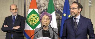 """Consultazioni bis, Bonino: """"Italia rimanga nel quadro delle alleanze euroatlantiche, no ondeggiamenti pericolosi"""""""
