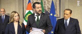 """Consultazioni bis, Salvini: """"Basta tattiche. Pronti a formare governo forte con premier indicato dalla Lega"""""""