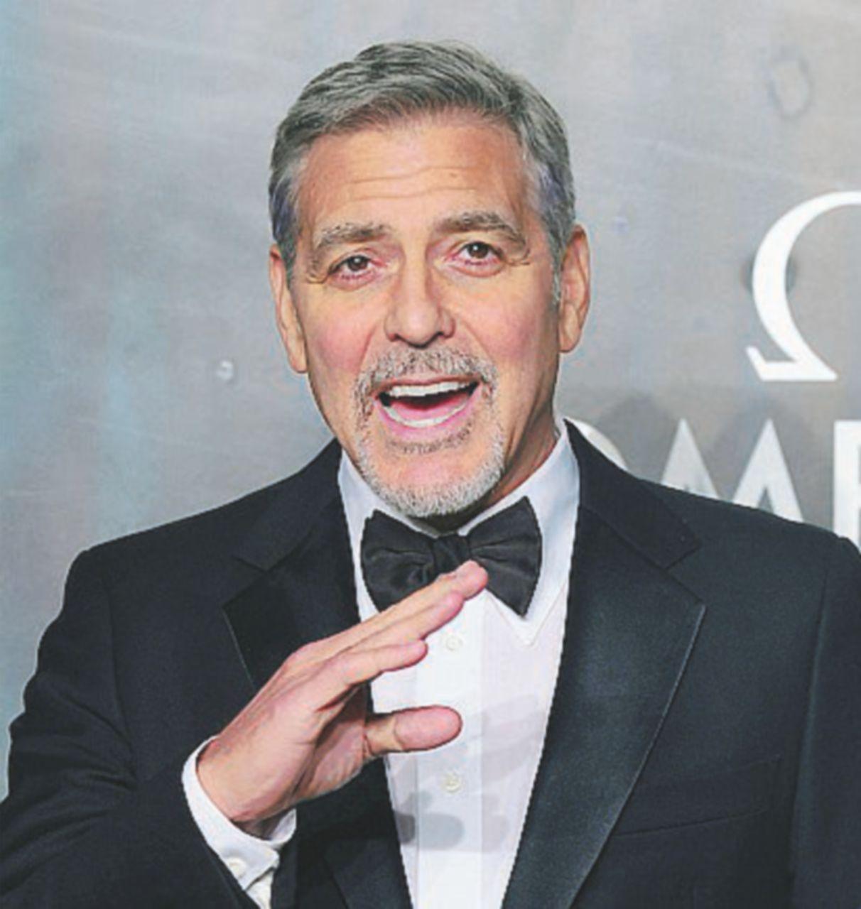 George Clooney di nuovo in guerra gira in sardegna