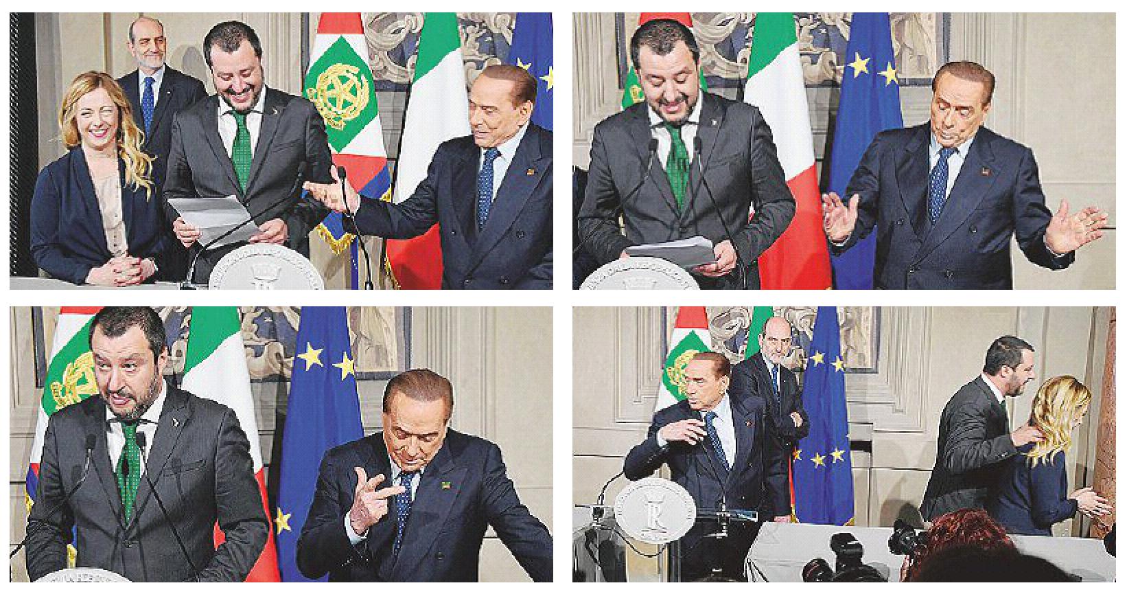 """In Edicola sul Fatto Quotidiano del 13 aprile: L'ex Cav imbriglia la Lega, poi dice: """"M5s non sa abc democrazia"""""""