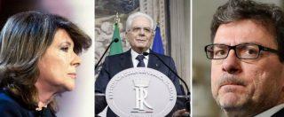 """Governo, la carta di Mattarella: mandato esplorativo. Prima scelta Casellati. Lei: """"Se me lo chiede il presidente, ci sono"""""""