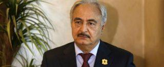 """Libia, media locali: """"Il generale Khalifa Haftar è morto"""". Ora possibile """"rottura dello stallo"""""""