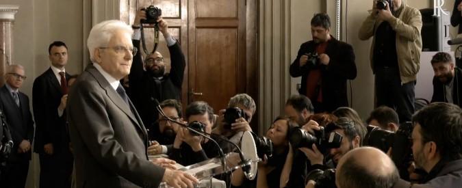 """Consultazioni – Mattarella: """"Al Paese serve un governo. Ancora alcuni giorni e valuterò come uscire dallo stallo"""""""