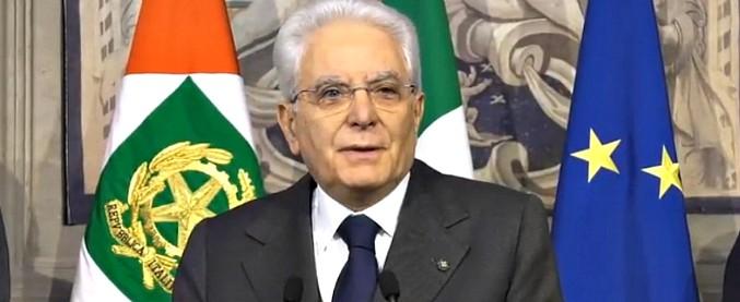 """Governo, l'ultima chiamata di Mattarella ai partiti: """"Fermi da due mesi, ditemi se ci sono altre maggioranze possibili"""""""