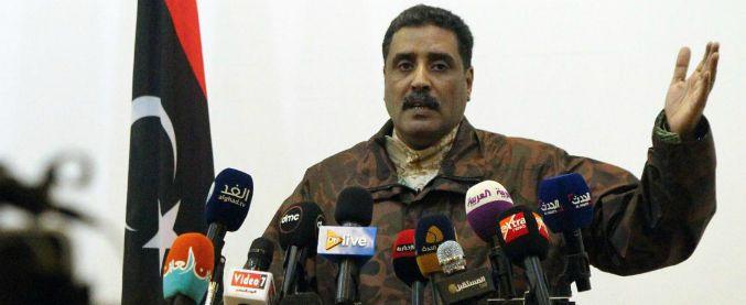"""""""Khalifa Haftar morto"""", ma il portavoce smentisce: """"Tornerà in Libia a combattere il terrorismo"""""""