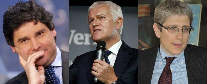 Mediaset, B. caccia Belpietro, Del Debbio e Giordano. Ma se perde voti non è colpa dei talk show