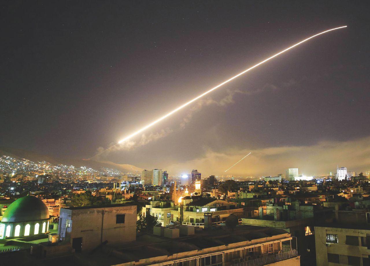 Sul Fatto del 15 aprile – Siria: Trump & C. bombardano. Ma soltanto un po'