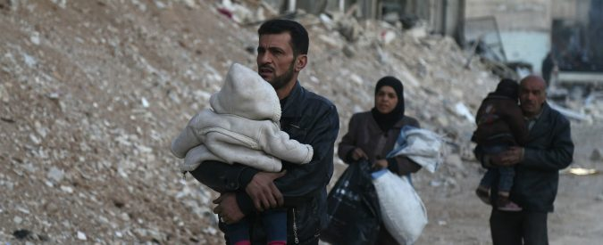 Siria: penso a Vasili, il gigante buono che dalla Grecia sognava la sua famiglia lontana