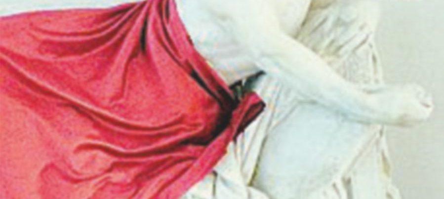 Convegno di islamici, coperta la statua. Le destre protestano