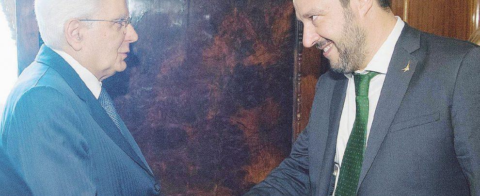 """Schiaffo di Salvini al Colle: """"Governo dopo le Regionali"""""""