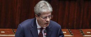 """Siria, Gentiloni: """"Italia non neutrale, è alleata Usa. Ma contrari a escalation"""". La Lega: """"No al ritorno alla russofobia"""""""