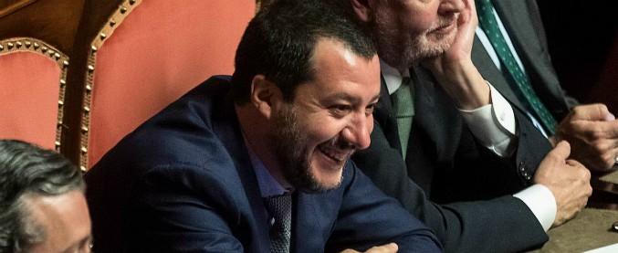 """Salvini: """"Di Maio torni sulla Terra così parliamo di programmi. Il Pd? Berlusconi me lo ha chiesto e gli ho risposto di no"""""""