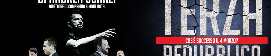 Terza Repubblica, il nuovo spettacolo di e con Andrea Scanzi. Le date del tour