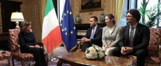 """Casellati, il mandato è già fallito. Di Maio: """"Sì solo a Fi, la Lega si decida"""". Salvini: """"Tu lo fai un passo di lato come me?"""""""