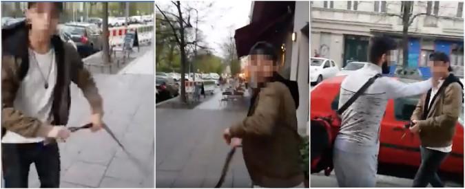 Berlino, giovani ebrei aggrediti da tre persone. Filmato l'attacco: giovane frusta vittima con una cintura