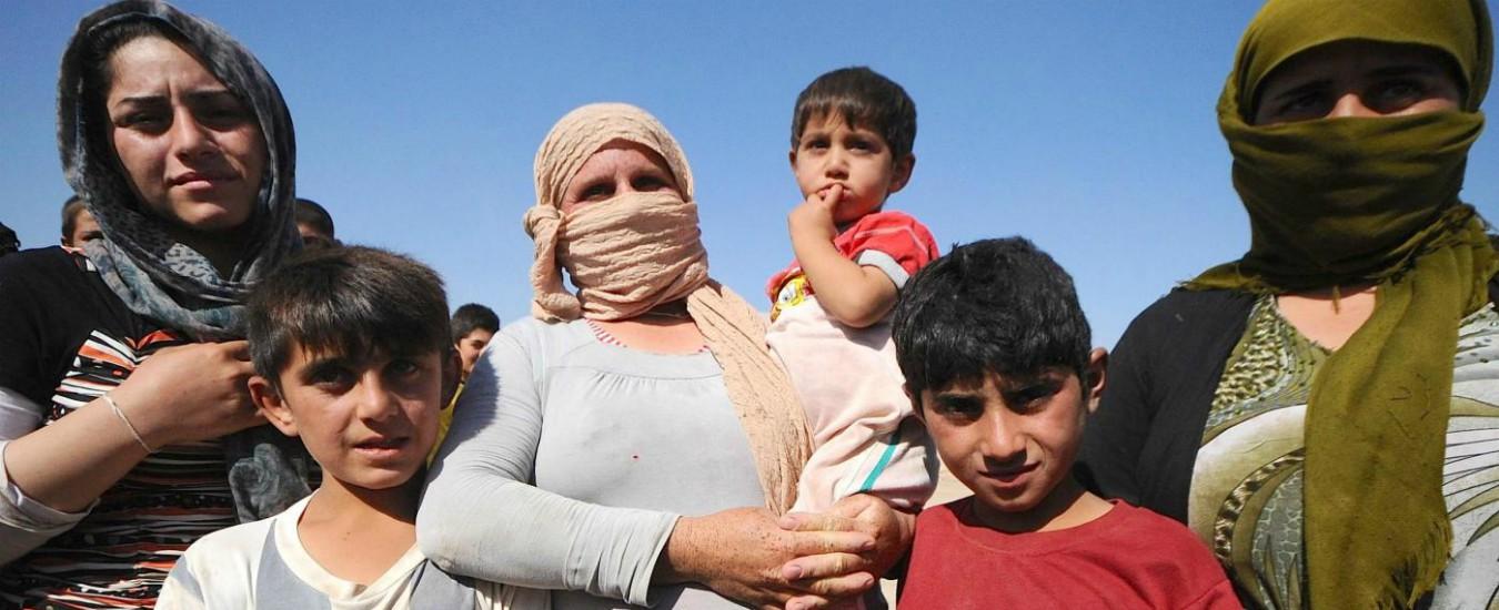 'Legami con l'Isis', donne e bambine irachene abbandonate nei campi profughi