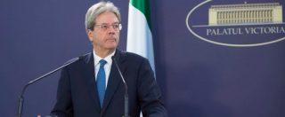 """Governo, Gentiloni: """"Serve una soluzione politica in tempi rapidi per l'Italia"""""""