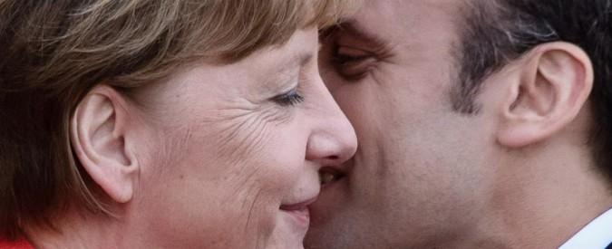 Unione Europea, bilaterale Germania-Francia. Macron: 'Rivedere il trattato di Dublino'. Merkel frena su unione bancaria