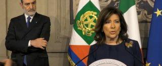 """Consultazioni, Casellati: """"Certa che Mattarella saprà trovare una soluzione. Ci sono spunti"""""""