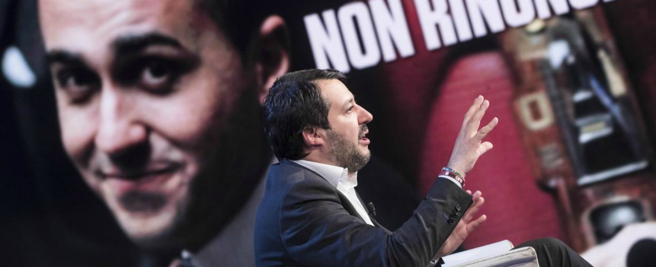 L'ingenuo Di Maio che crede che Salvini sia meno impresentabile di B.