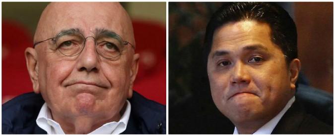 Plusvalenze gonfiate tra Milan, Inter e Genoa: indagati per falso in bilancio Thohir, Galliani e Zarbano