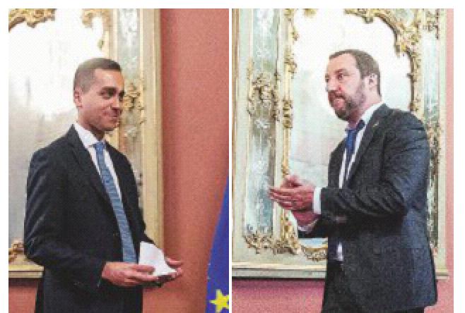 """In Edicola sul Fatto del 22 aprile – M5S, rotta verso Salvini. """"Ma si decida entro domani"""""""