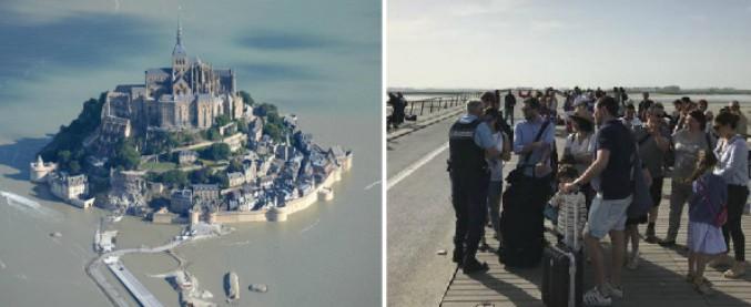 """Mont-Saint-Michel evacuato: un sospetto minaccia di attaccare la polizia. Prefetto: """"Setacciata ogni casa, non è più qui"""""""