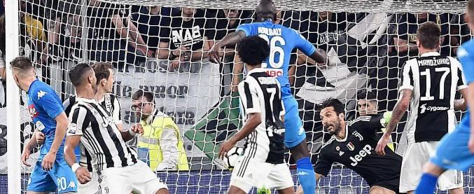 Juventus-Napoli 0-1, il gol di Koulibaly a un minuto dalla fine riapre il campionato