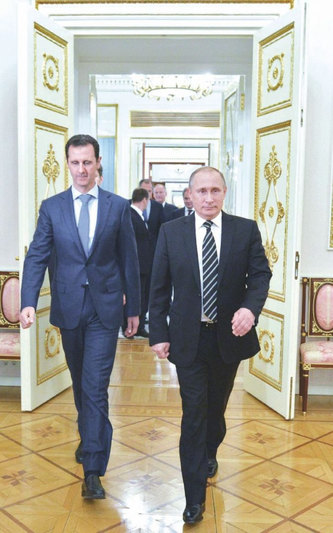 Dalla Russia con armi, la guerra sporca in Siria