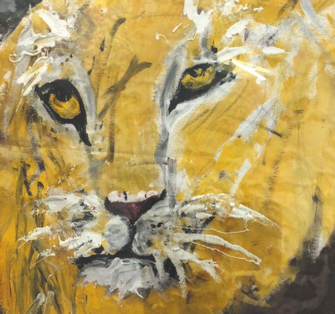 I leoni di Sebastiano, un piccolo genio che sembra Ligabue