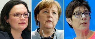 Germania, non solo Merkel: 5 partiti su 6 guidati da una donna. Ma il gap salariale tra lavoratori e lavoratrici è del 21%