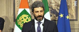 """Governo, Fico incaricato da Mattarella: """"Obiettivo maggioranza Pd-M5s, subito al lavoro sui temi"""""""