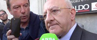 """Governo, De Luca: """"Alleanza con M5S? Chiariscano se siamo delinquenti"""". E ipotizza """"appoggio esterno"""""""