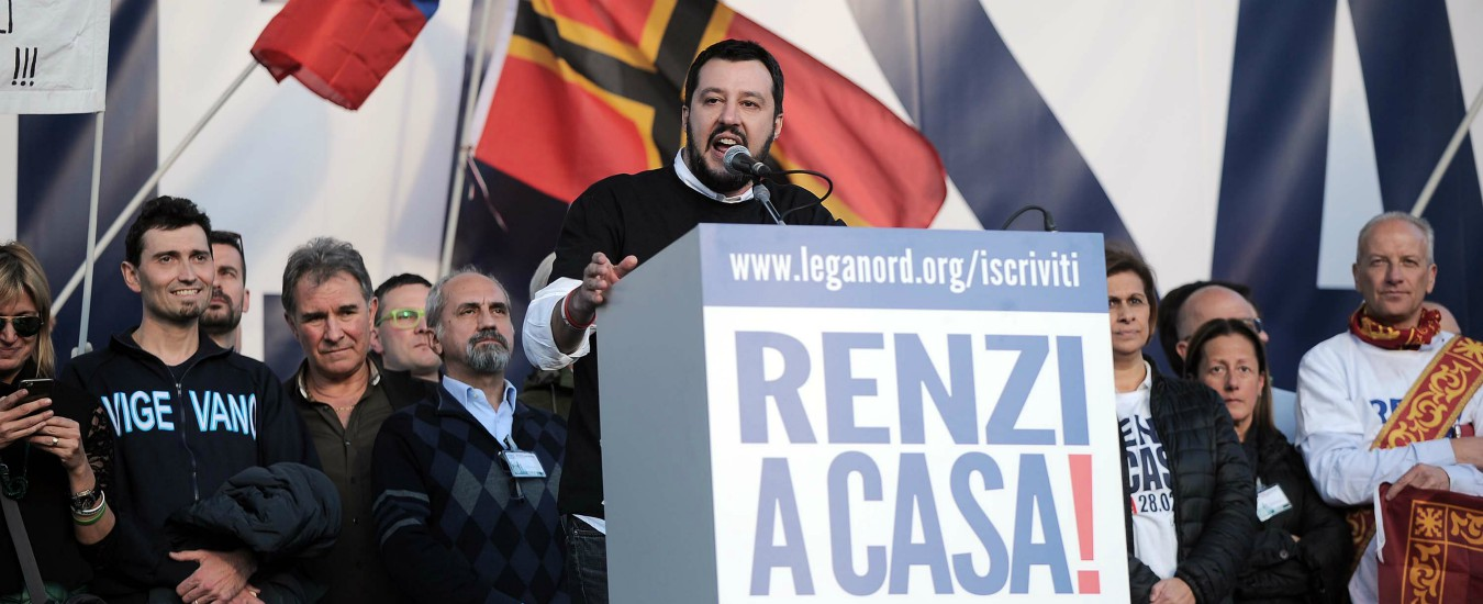 Quello che Salvini ha ereditato da Renzi