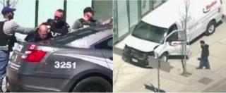 """Toronto, furgone sui passanti. """"Almeno 10 morti"""". Arrestato uno studente di origini armene. """"Per ora escluso terrorismo"""""""
