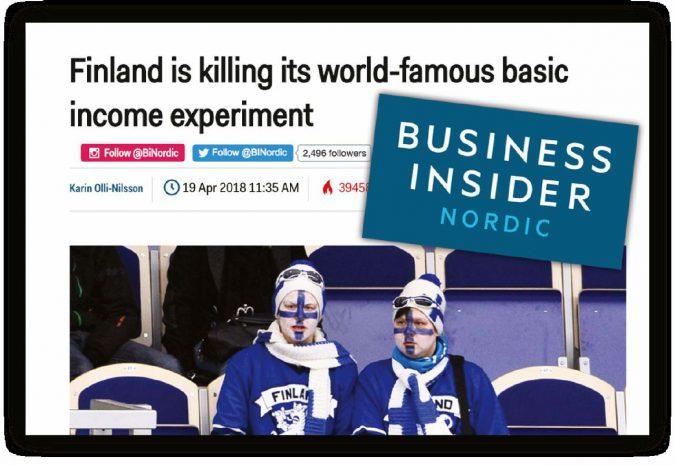La Finlandia non avrà il reddito di cittadinanza