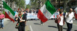 """25 aprile, """"la Liberazione non è completa fino a quando non si garantiscono i diritti sociali e il reddito di dignità"""""""