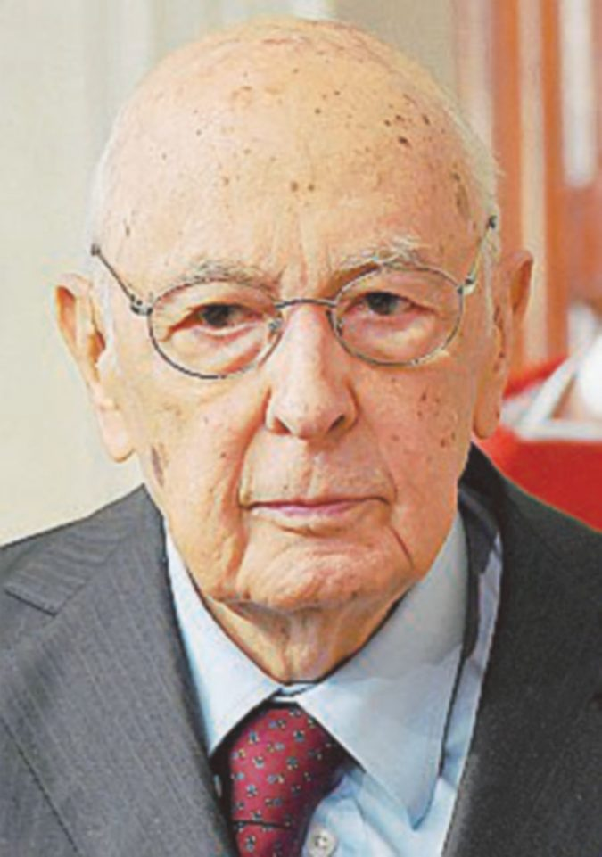 Intervento riuscito, Giorgio Napolitano si sta riprendendo