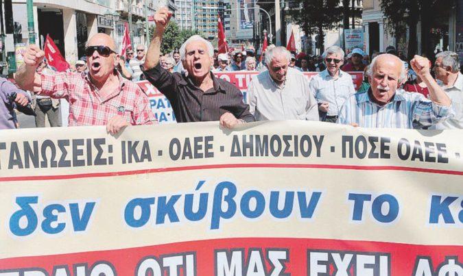 Tagli a pensioni e sanità pubblica, ad Atene è protesta a oltranza