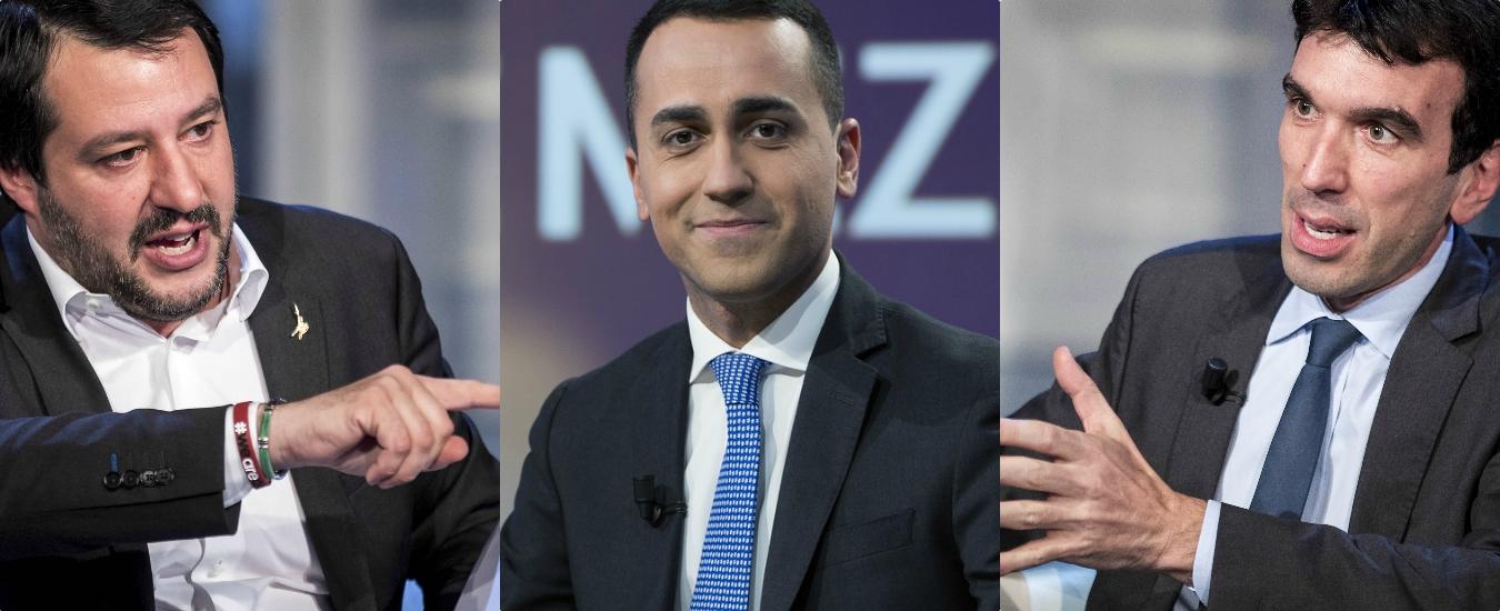 Governo: fallito a sinistra con Salvini, Di Maio prova a destra col Pd