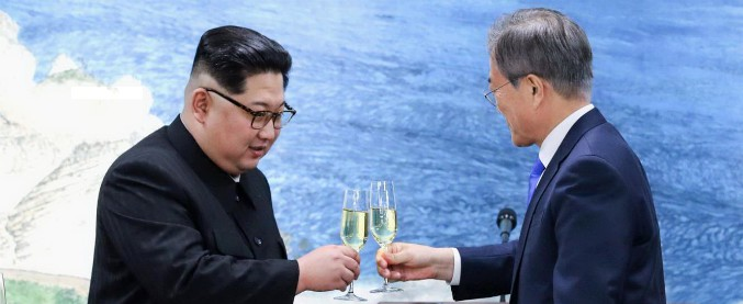 Coree, Kim e Moon preparano la pace che il popolo aspetta da 55 anni