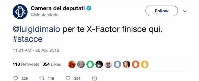 """Mandato a Fico, meme dalla pagina satirica degli """"Eurocrati"""" diventa una fake news per l'ufficio stampa della Camera"""