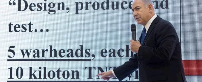 """Nucleare Iran, Netanyahu contro Teheran: """"Ha mentito. Vuole costruire 5 atomiche come quelle di Hiroshima"""""""